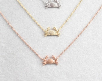 Maryland Crab Necklace (3 Colors)