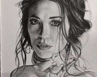 Drawing Print of Lauren Daigle