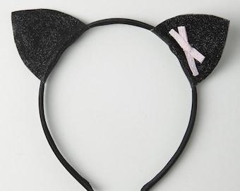 Girls cat ears headband
