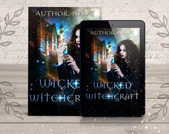 Fantasy Premade eBook Cover- witch story fiction, fantasy novel, digital cover design, cover art, fantasy book cover artist, ebook designer
