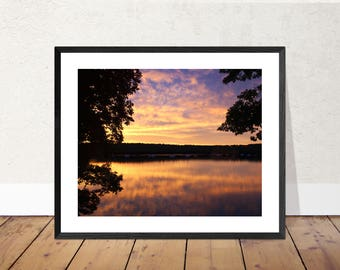 Daybreak | Sunrise Photography Color Print | 11x14, 8x10 or 4x6 (Custom Sizes Available Upon Request)