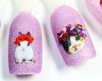 Nail Decals: Cuteness Overload Water Nail Decals