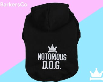 Dog Sweater - Notorious D.O.G.