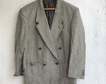 Vtg Gianni Versace Sport Coat Blazer Size 42