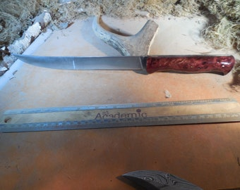 Eric's Fillet boning and carving Knife with Burmese Sal handles