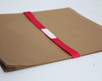 Kraft Paper Bags 12 x 15 Lot of 25