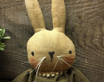 Primitive Easter Bunny Rabbit PATTERN Buttercup