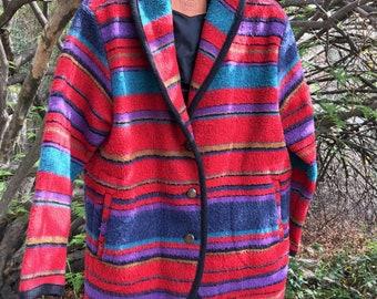 Vintage Woolrich Wool Blanket Jacket