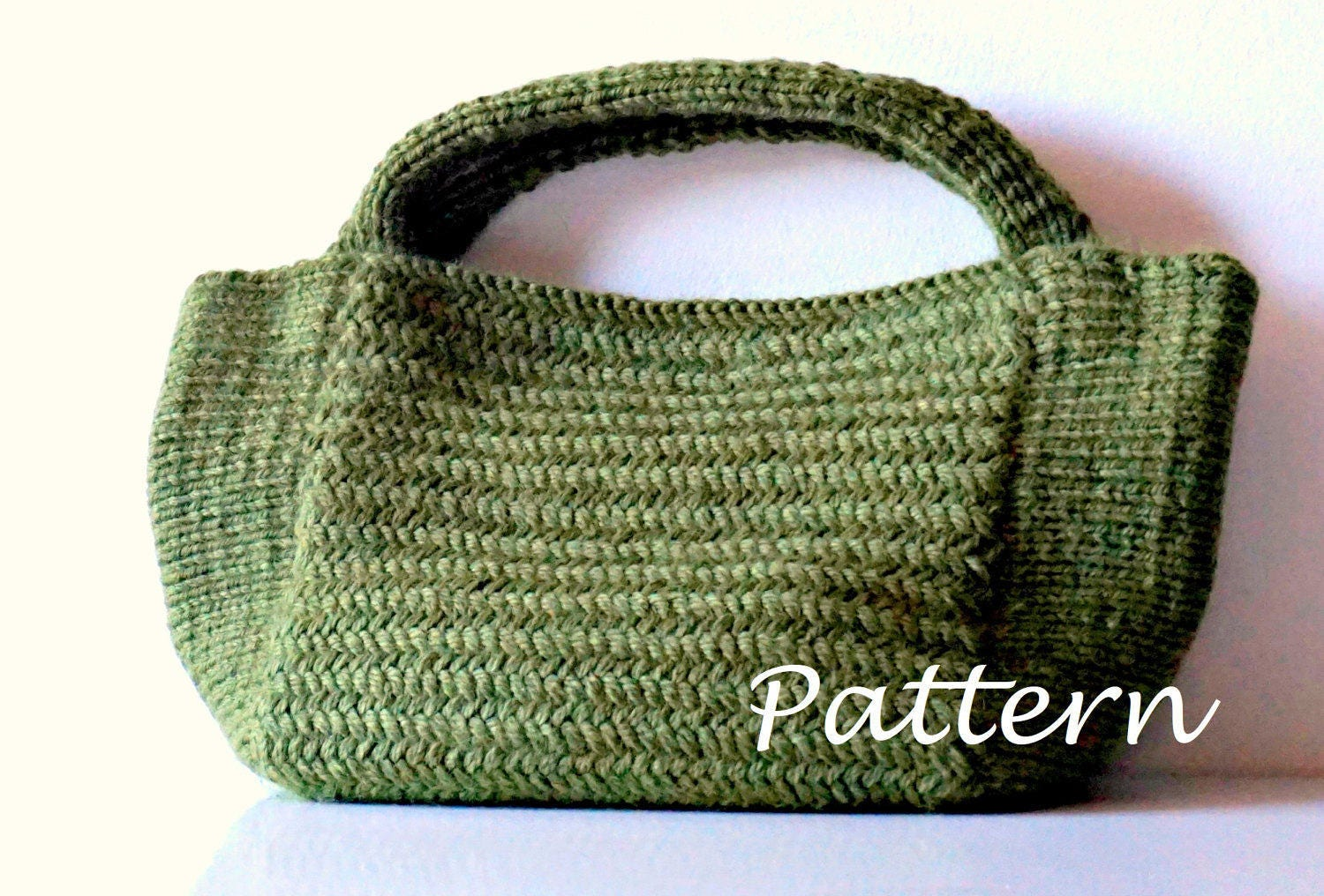 KNITTING PATTERN Knitting Bag Pattern Bag Making Tutorial