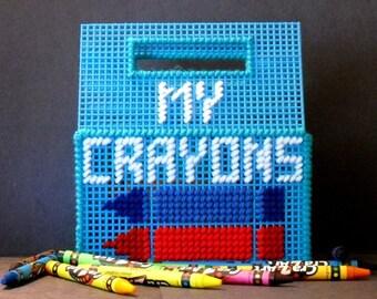 My Crayon Keeper - Crayon Holder - Crayon Storage Box