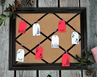 INSTANT DOWNLOAD: Printable Christmas Holiday Gift Tags with Festive Illustrations