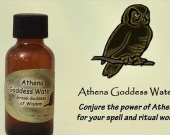 Athena Goddess Water