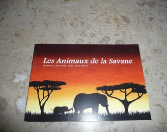 "Autographed book: ""Animals of the Savannah"""