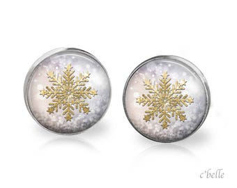 Christmas Earrings Winter-16