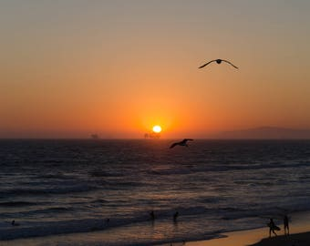 Huntington Beach California Sunset (Digital Download)