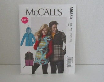 McCall's Easy pattern M6850