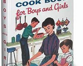 Betty Crocker's Cook Book for Boys and Girls FREE SHIPPING!