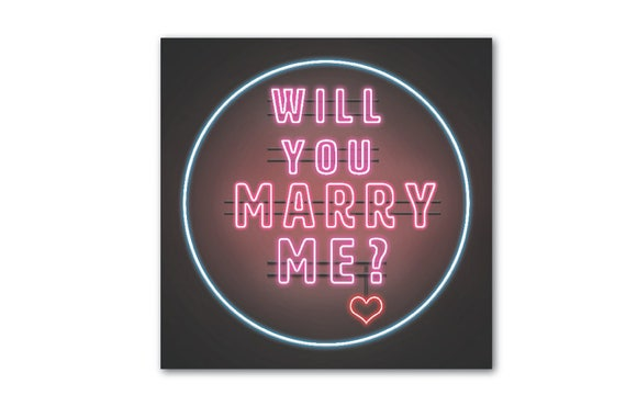 Will You Marry Me Marriage Proposal Banner Marriage Proposal
