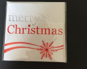 5 Merry Christmas Greeting Cards