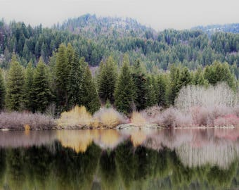 Glassy Lake ~ Photography