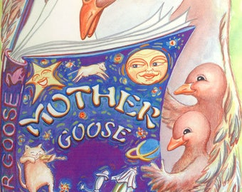 Personalized Children's Book - Mother Goose