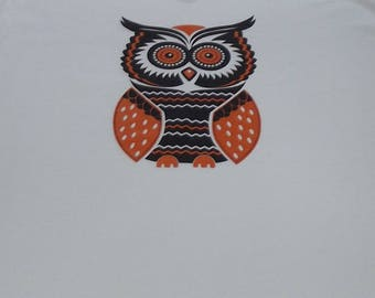 Halloween Shirt ~ Shirt ~ Owl Shirt ~ Women's  Clothing ~ Owl Top ~ Owl ~  Shirt  ~ Top ~Women's  Owl Tshirt