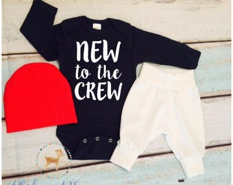 Baby Boy Coming Home Outfit, newborn boy, Baby shower gift, Baby Brother, gift for him, baby boy gift, shower gift, Baby brother, preggers