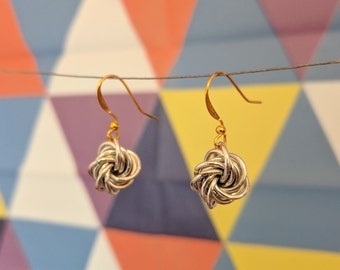 Byzantine Knot Earrings