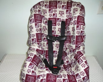A & M  toddler car seat cover