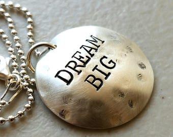 Graduation Gift for Best Friend - Dream Necklace - Gift For Daughter - Grad Necklace - High School Graduation Necklace - Gift For Babysitter