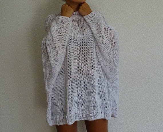 summer sweater made order knit sweater oversized knit white cotton knit sweater oversized womens size to loose sweater plus sweater a0Uqg6w