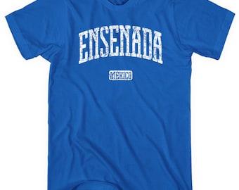 Ensenada Mexico T-shirt - Men and Unisex - XS S M L XL 2x 3x 4x - Mexicano T-Shirt - 4 Colors