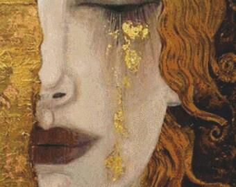 Freya's Tears PDF Cross Stitch Pattern