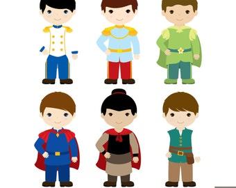 Little Prince Digital Clipart 1