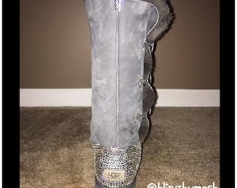 16e595e001f9 Custom Bling Ugg Boots