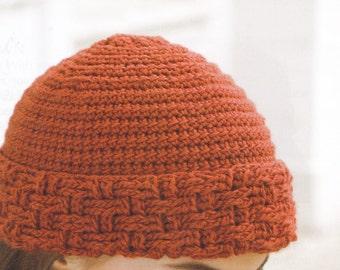 BASKETWEAVE STOCKING CAP