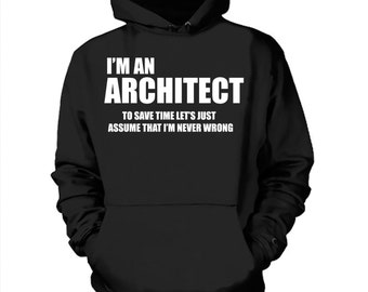 Architect Hoodie Sweater Gift for Architect Sweatshirt