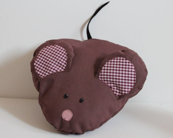 Brown Mouse Animal Cushion