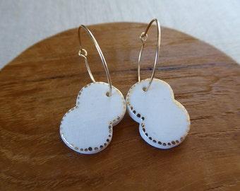 Cocoon Hoop Earrings