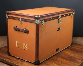 Huge  Louis Vuitton  Steamer  trunk