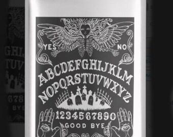 Ouija Board hip flask