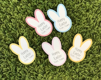 Personalized Easter bunny Tag, Easter Bunny, Tag, Personalized