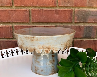 medium stand - handmade - ceramic - pottery - stoneware