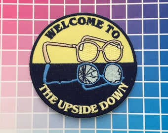 Welcome To The Upside Down - Stranger Things Patch - Barb