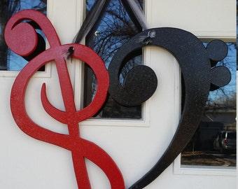 Love Music door hang