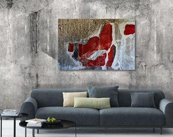 """Poster Print """"Fresco in Pompeii, Italy"""""""