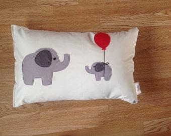 Elephant Baby Cushion