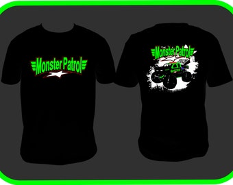 Monster Patrol - Adult TShirt