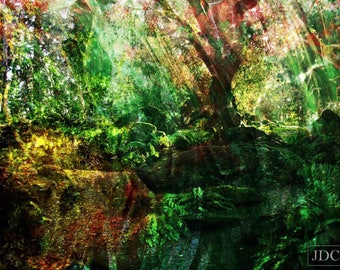 In the Time of Druids, Digital Artwork