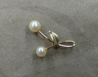 Vintage Krementz Pearl Pin